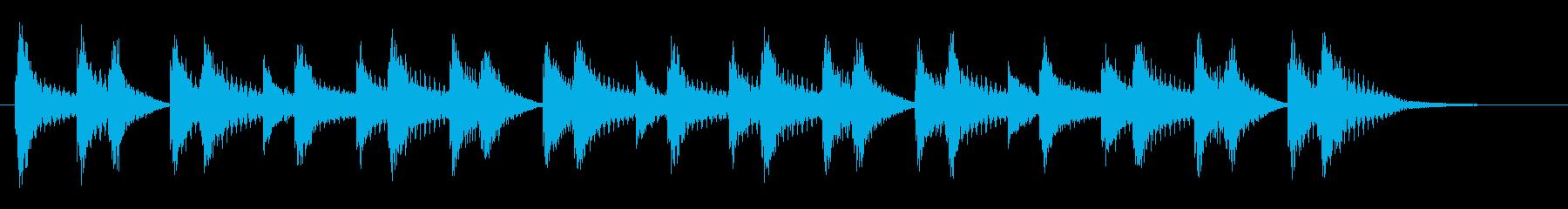 エーライヤッチャ!阿波踊り ♩125#3の再生済みの波形