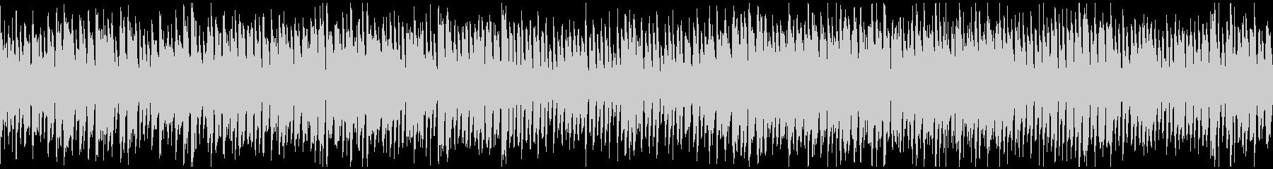 カートゥーン、どたばたギャグ ※ループ版の未再生の波形