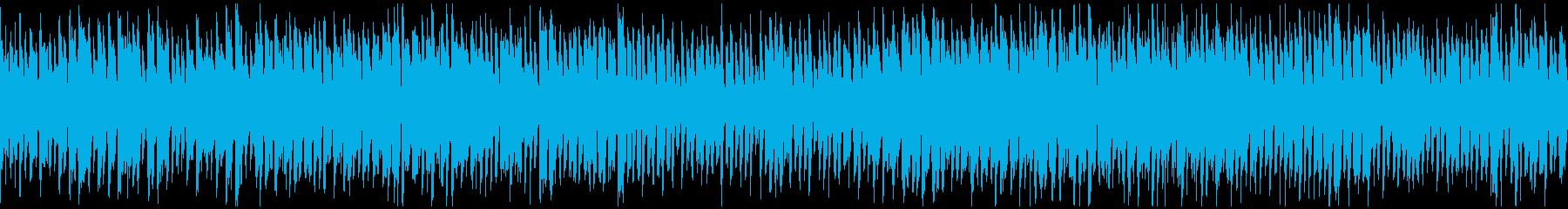 カートゥーン、どたばたギャグ ※ループ版の再生済みの波形