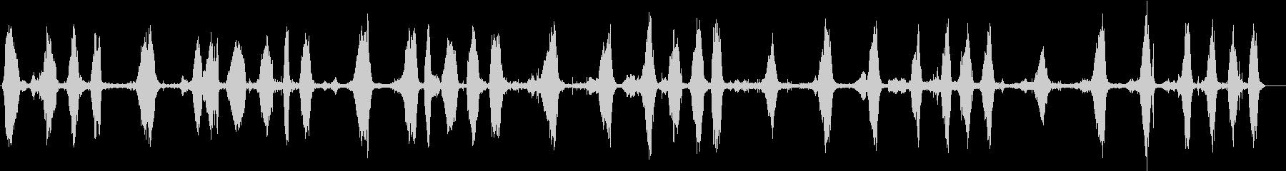 クジラ、ザトウクジラの鳴き声、歌。...の未再生の波形
