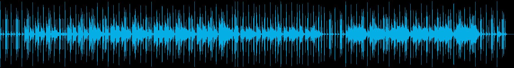 ゆったりチルなジャジーヒップホップの再生済みの波形