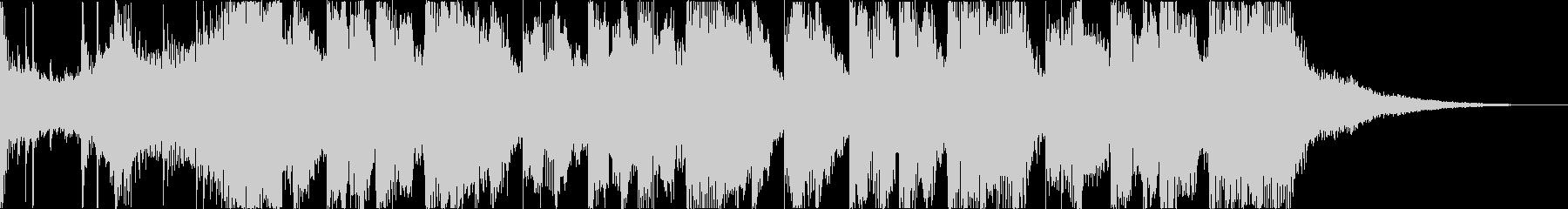 チルアウトおしゃれなトロピカルハウスdの未再生の波形