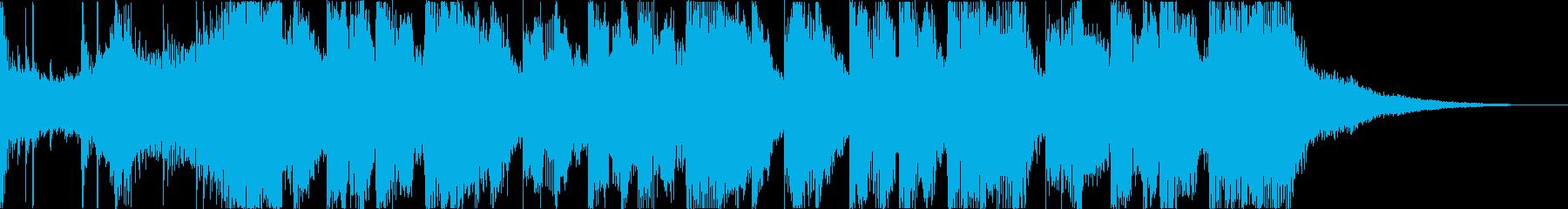 チルアウトおしゃれなトロピカルハウスdの再生済みの波形