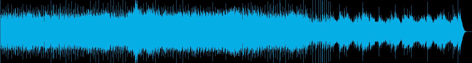 心温まるテーマ、ビブラフォン、ピア...の再生済みの波形