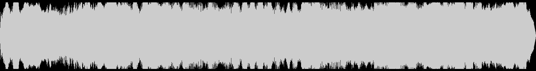 スペースフィード、フィードバック、...の未再生の波形