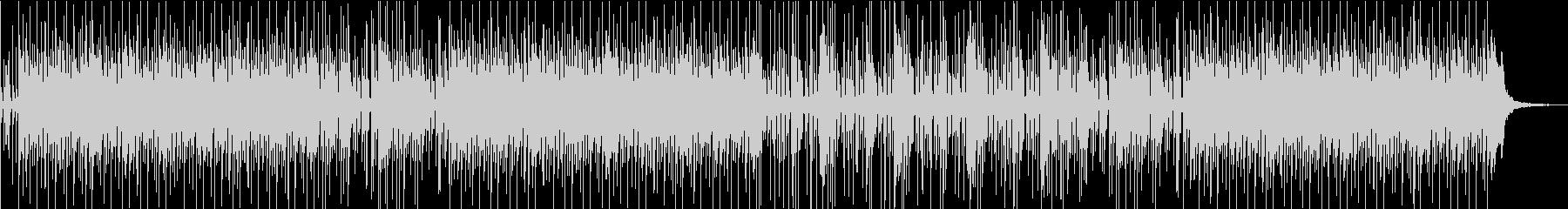 しっとりとしたピアノ系ポップスBGMの未再生の波形