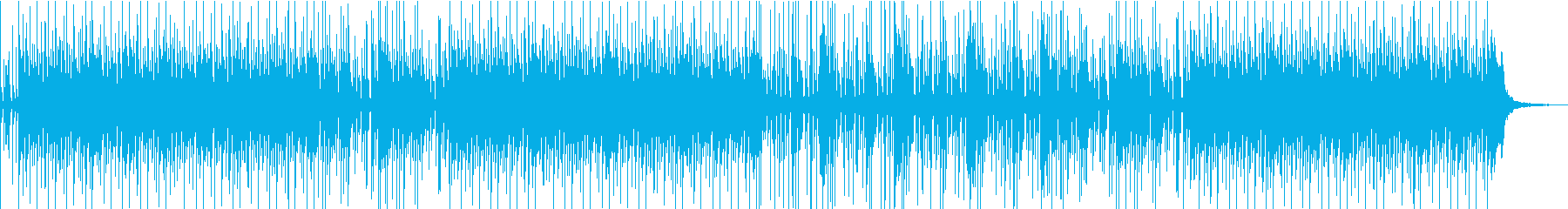 しっとりとしたピアノ系ポップスBGMの再生済みの波形