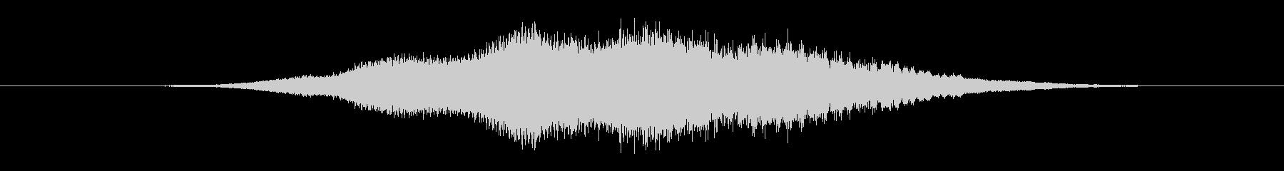 特撮 ホログラム表示03の未再生の波形