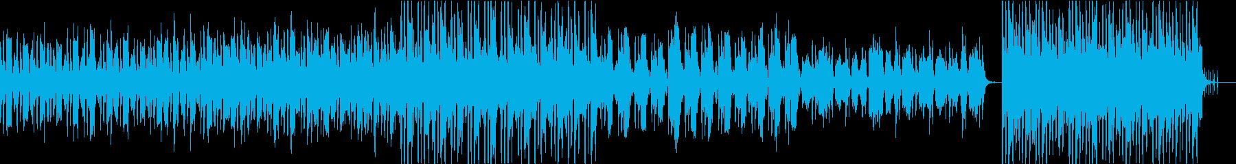ちょっと不思議で心地よいエレクトロの再生済みの波形