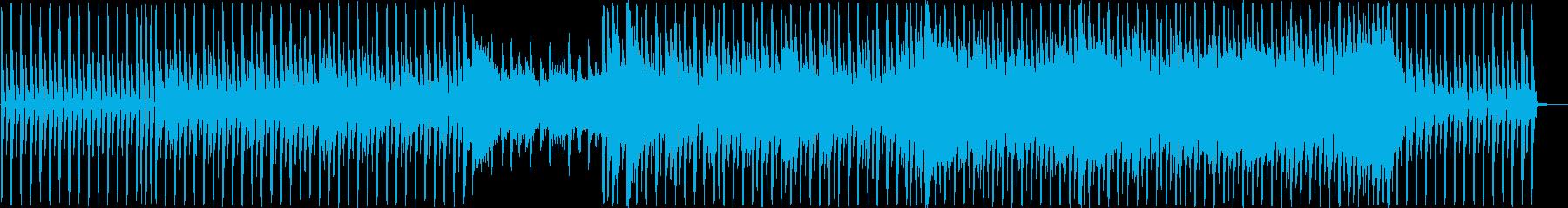 明るく元気の出るノリノリなポップハウスの再生済みの波形