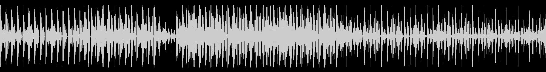 [ループ可能]ポップなダンサブル楽曲の未再生の波形