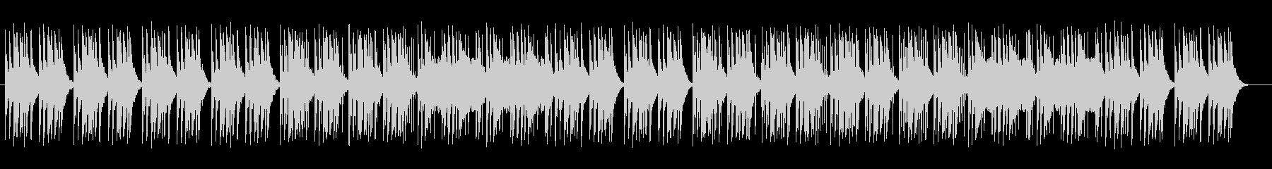 シンセサイザーのアップテンポポップスの未再生の波形