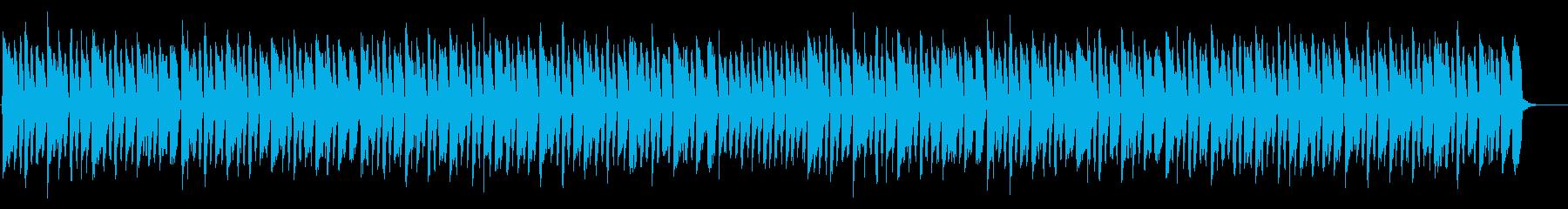 おもちゃの自動演奏風のアンサンブルの再生済みの波形