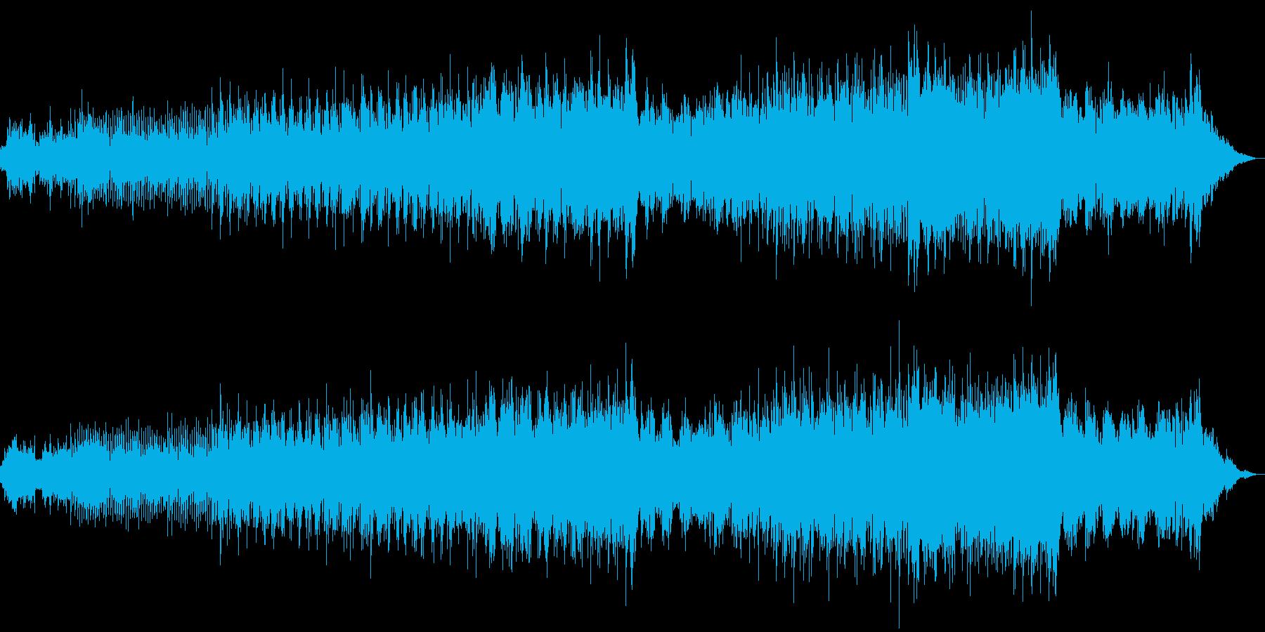 近未来感溢れるエレクトロニカの再生済みの波形