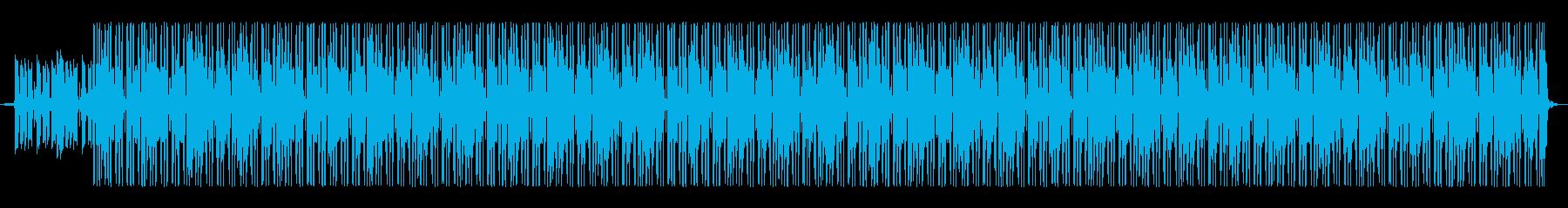 おしゃれで元気なインストヒップホップの再生済みの波形