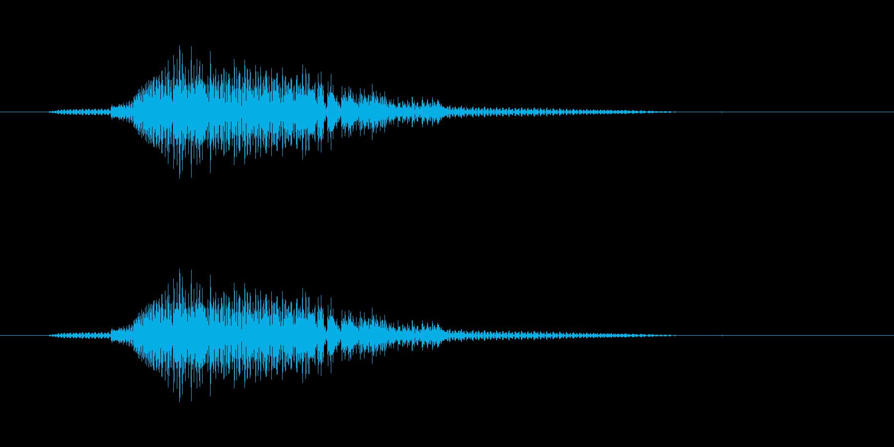 Go! ダミ声の再生済みの波形
