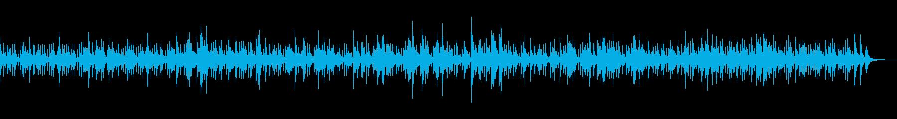 ピアノとガットギターの気だるいボサノヴァの再生済みの波形