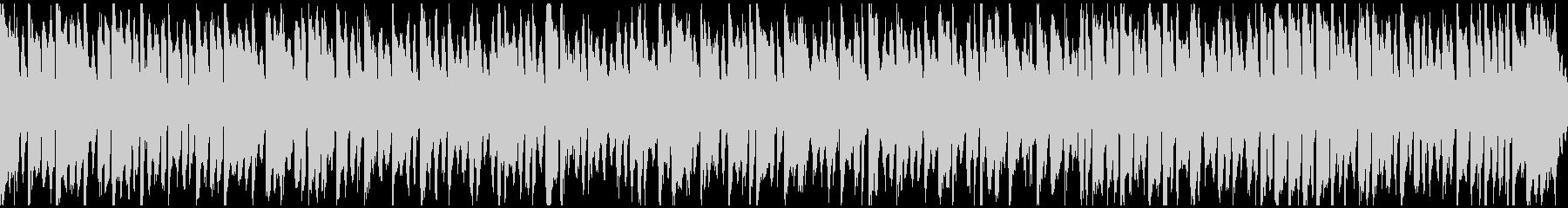 ほんわかした可愛い日常BGM ※ループ版の未再生の波形