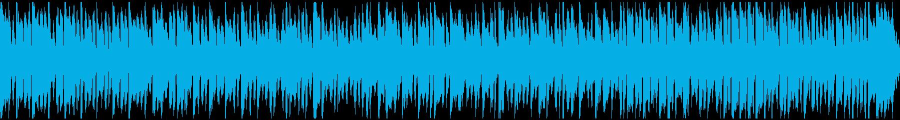 ほんわかした可愛い日常BGM ※ループ版の再生済みの波形