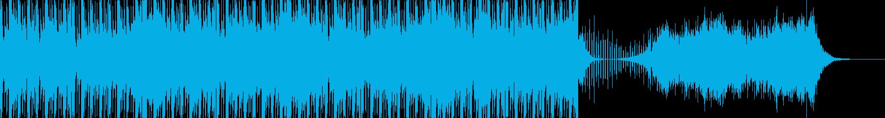 恐怖のダブステップの再生済みの波形