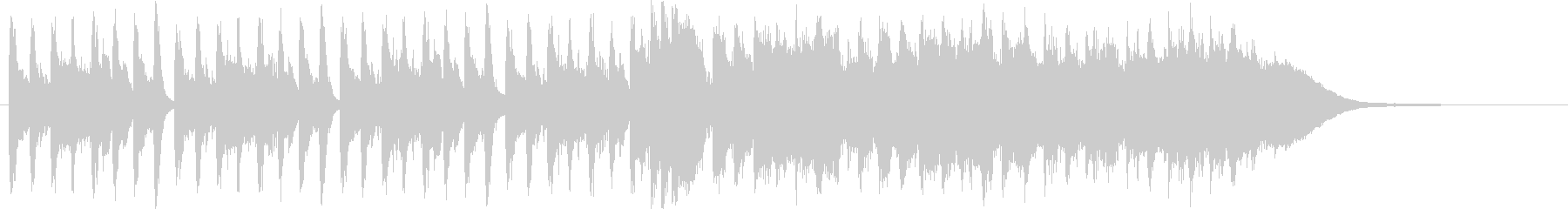 小編成オーケストラ(30秒)の未再生の波形