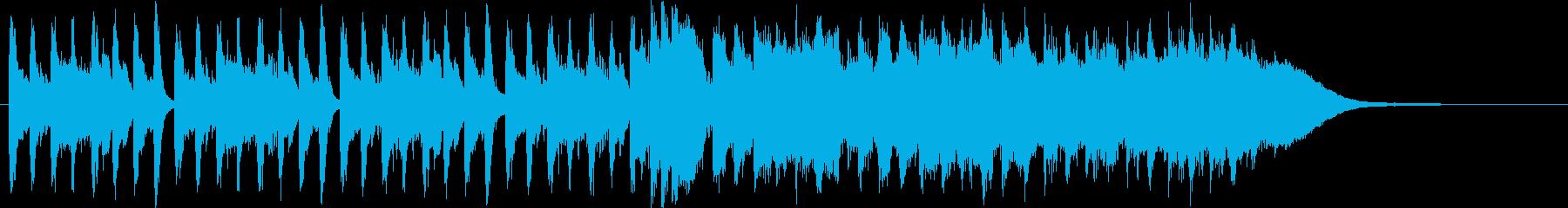 小編成オーケストラ(30秒)の再生済みの波形