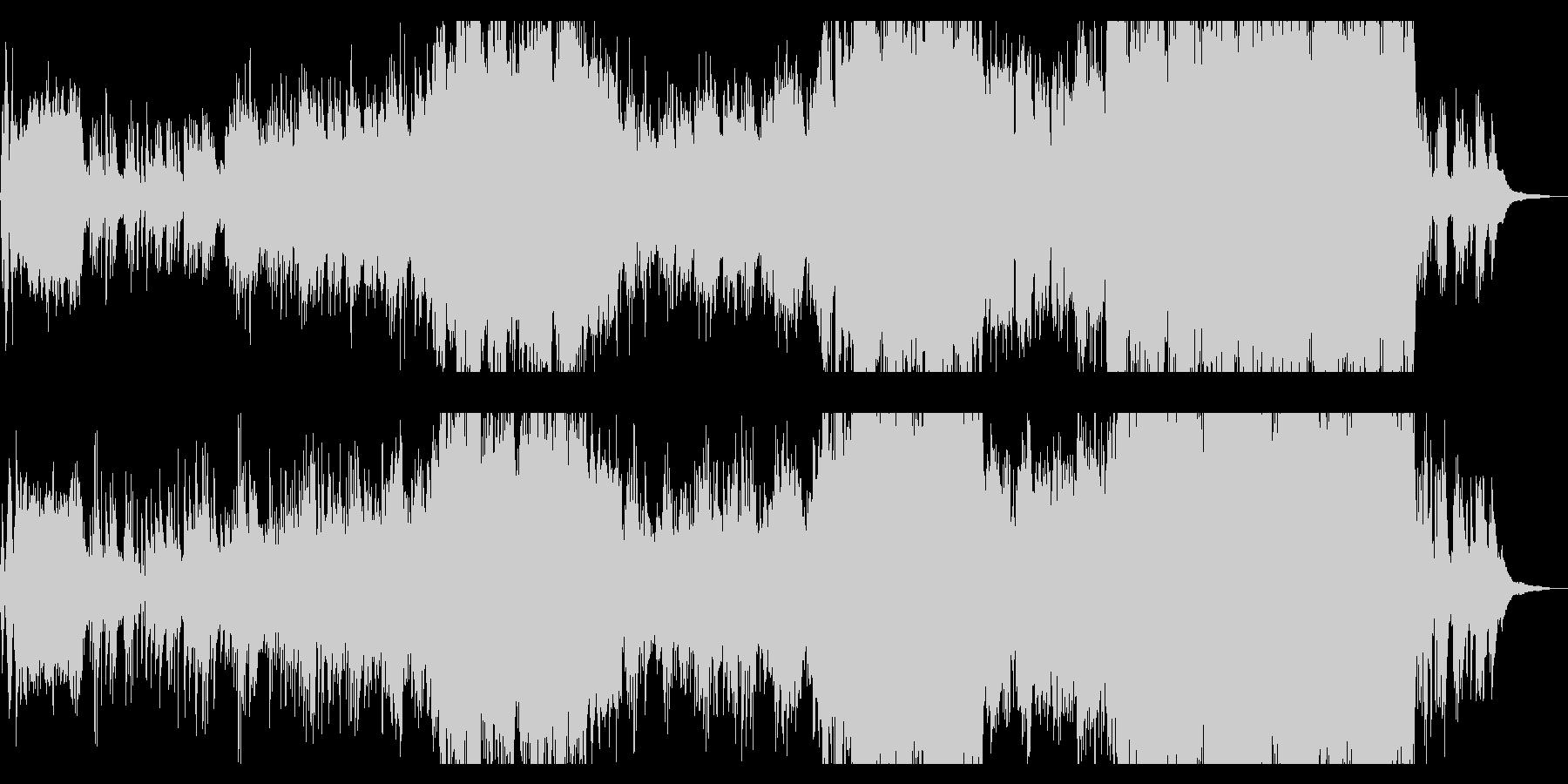 ピアノが印象的なウエディング向きバラードの未再生の波形