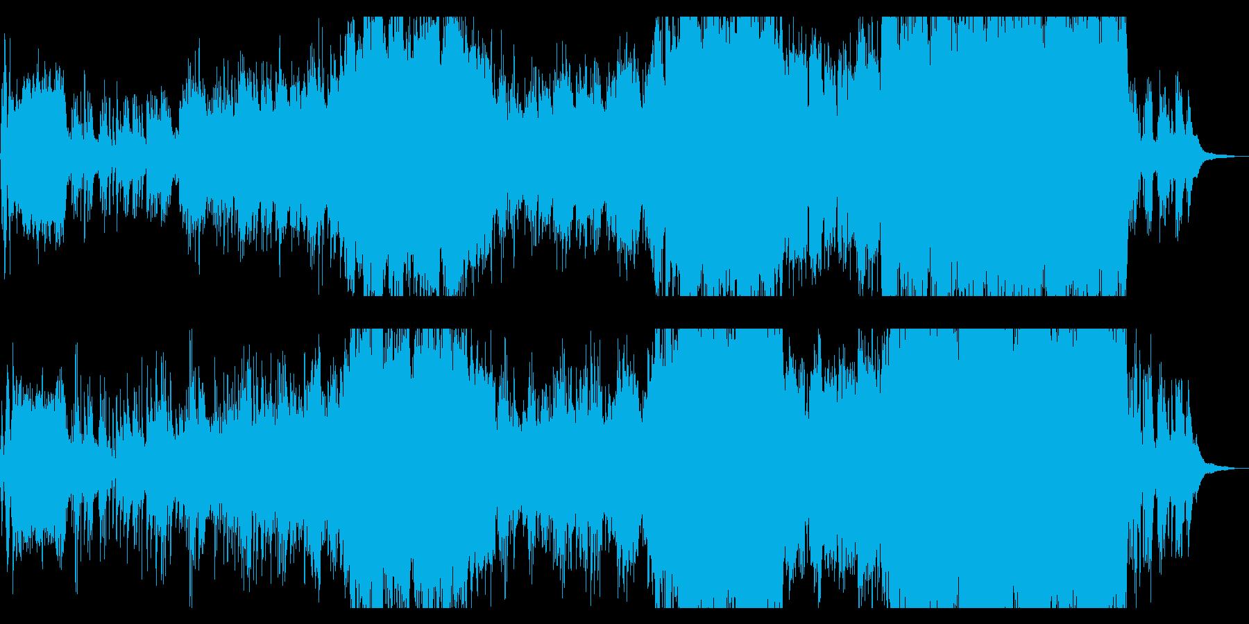ピアノが印象的なウエディング向きバラードの再生済みの波形