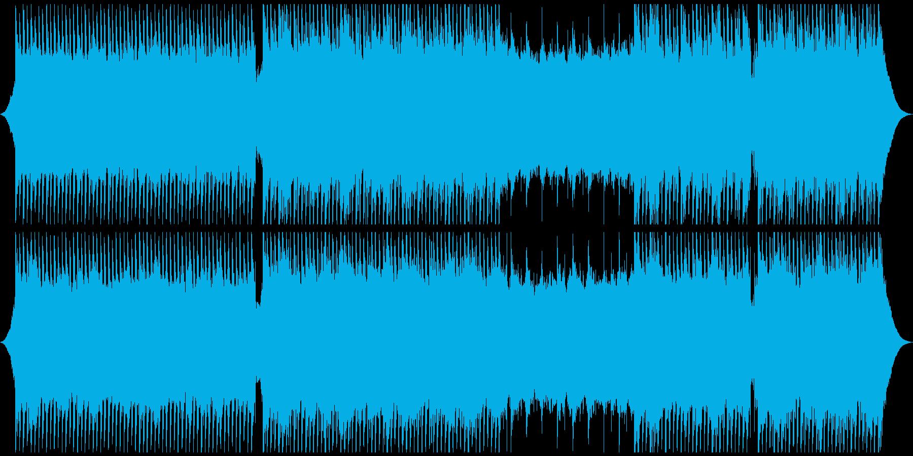 実験的な アンビエント 未来 テク...の再生済みの波形