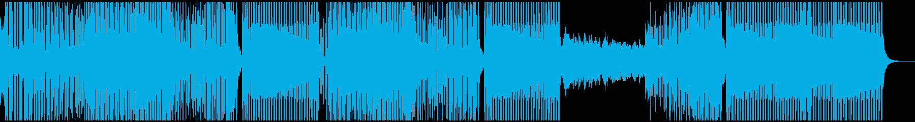 とても陽気で可愛らしいサルサハウスの再生済みの波形