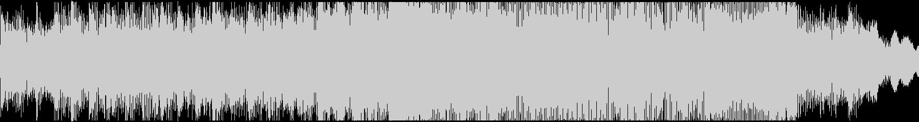 インダストリアルロック系ジングルの未再生の波形