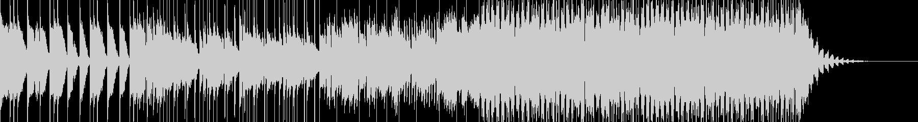 キャッチーなトロピカルポップハウスの未再生の波形