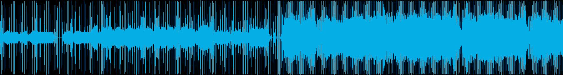 ストリングスとリズムのみの穏やかな曲で…の再生済みの波形