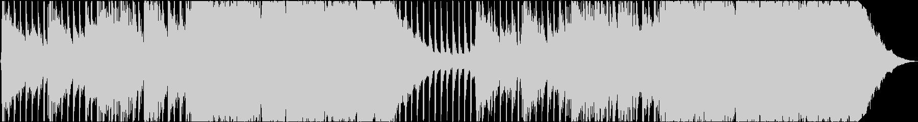ファッションヘビープロモロックの未再生の波形