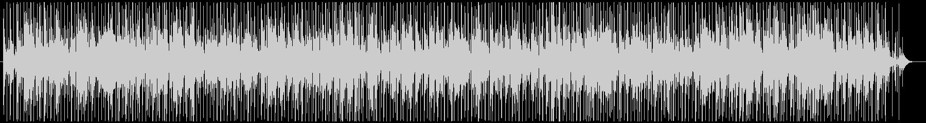 おしゃれなジャズボサノバBGMの未再生の波形