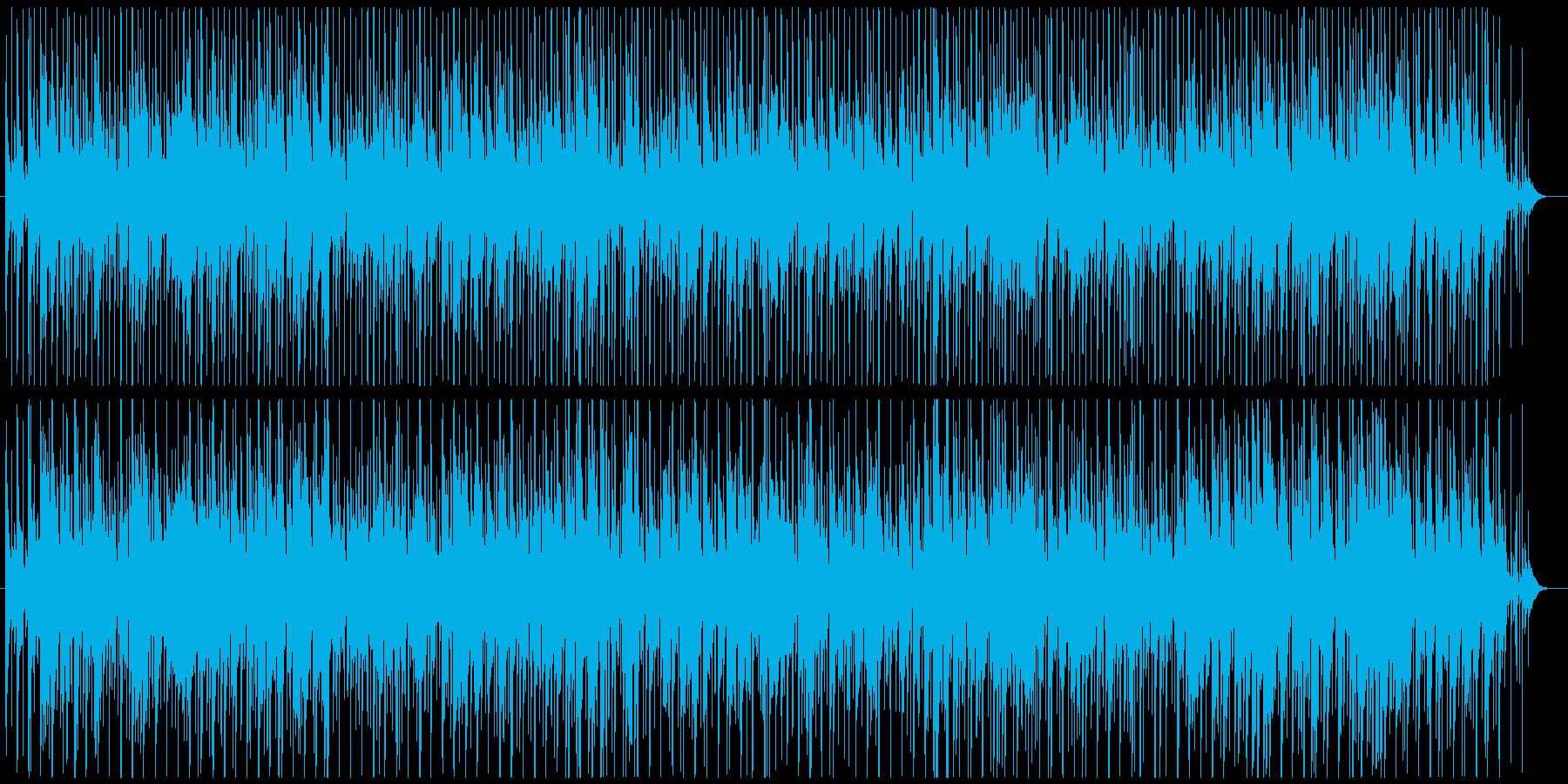 おしゃれなジャズボサノバBGMの再生済みの波形