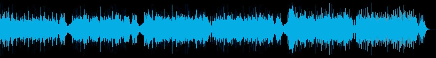 ちょっとかわいい、ホラーなハロウィンの再生済みの波形
