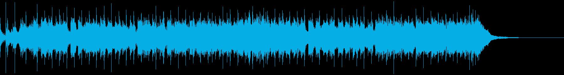 陽気で軽快なスカ・パンク風ジングルの再生済みの波形