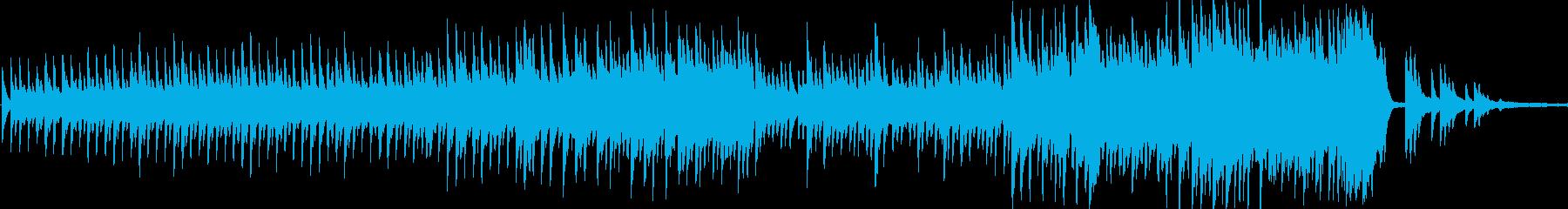 瞑想的で優しい感情的なソロピアノは...の再生済みの波形