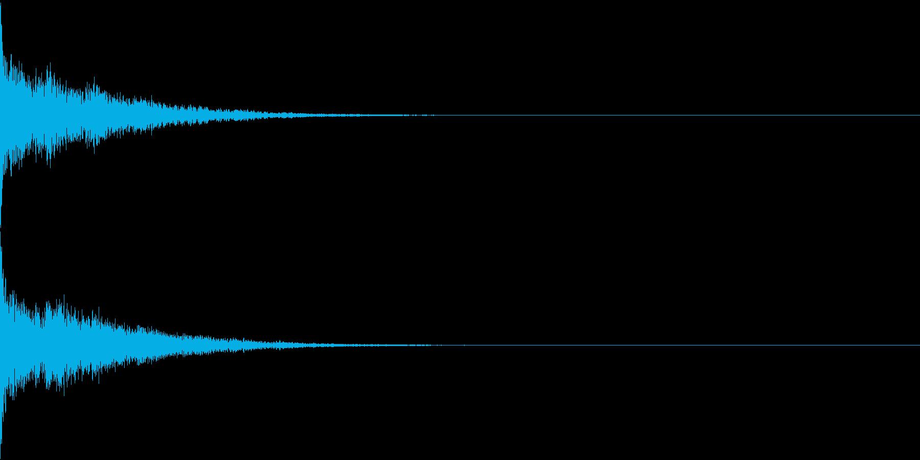 ワープ音・空を飛ぶ(シューン)の再生済みの波形