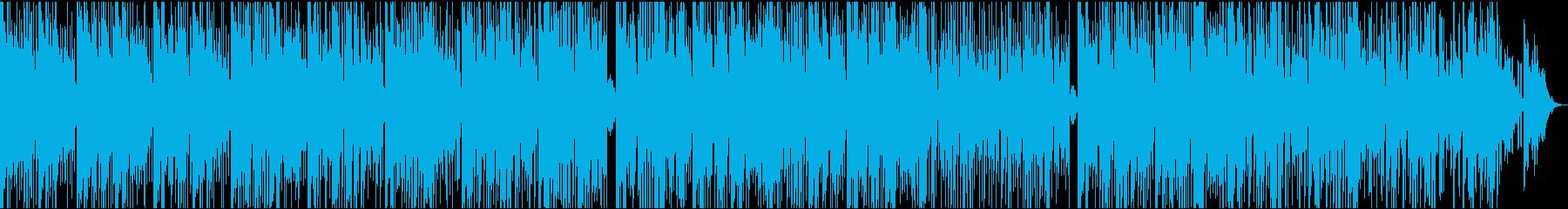 ポップ テクノ ブレイクビーツ 実...の再生済みの波形