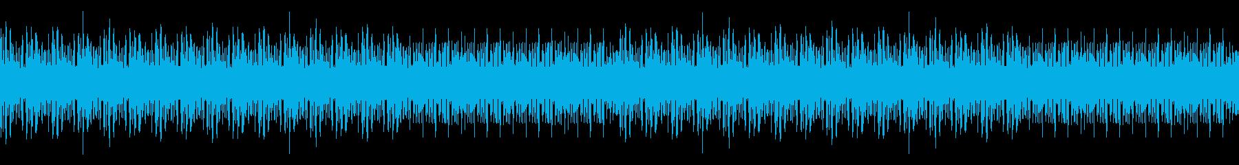 ドラムンベース・バトル・レースの再生済みの波形
