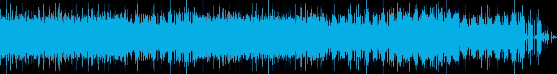 緊張・テンション・緊迫感のあるBGMの再生済みの波形