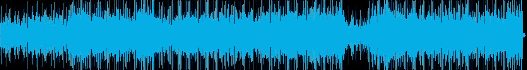 キャッチーで陽気なカントリーミュージックの再生済みの波形