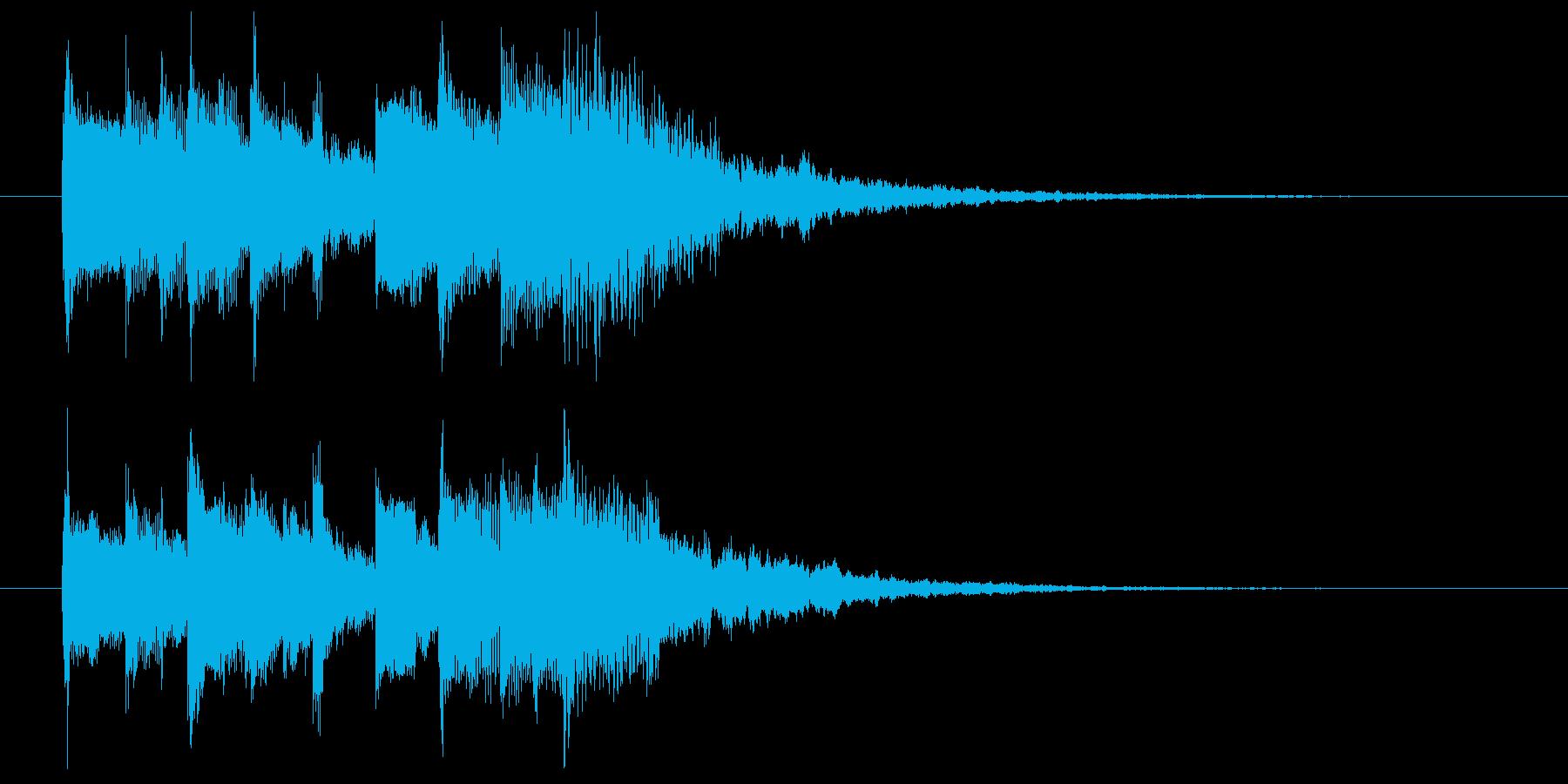 【サウンドロゴ】ベル系シンセ_04の再生済みの波形