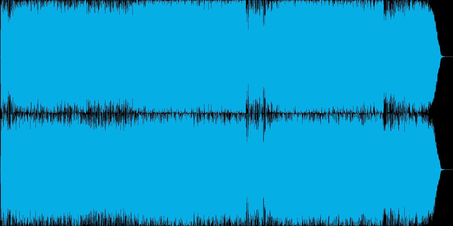 オーケストラ&バンドのOP曲の再生済みの波形