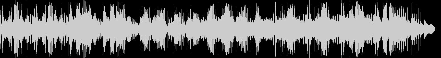 切なくも爽やかなリラックスピアノBGMの未再生の波形