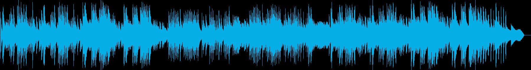 切なくも爽やかなリラックスピアノBGMの再生済みの波形
