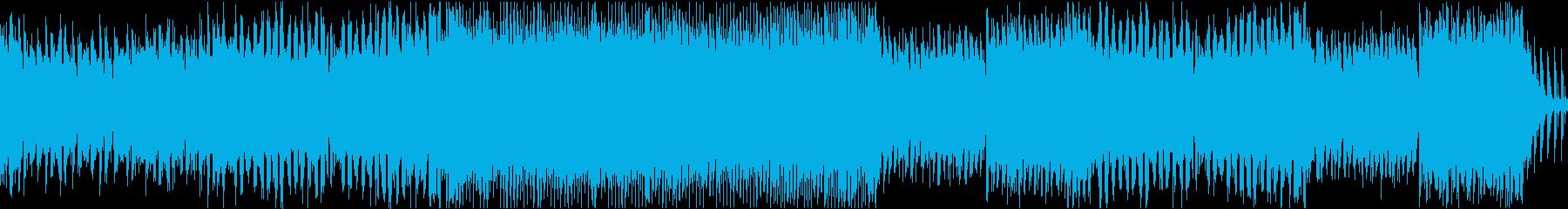 ダブステップ アクション EDMの再生済みの波形