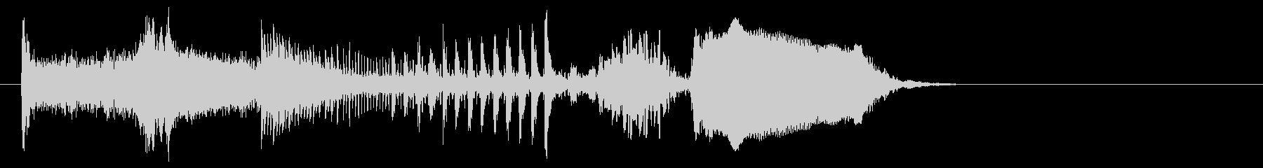 コミカルクラッシュwの未再生の波形